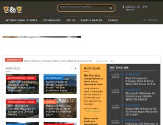 toursandtravellers.com screenshot