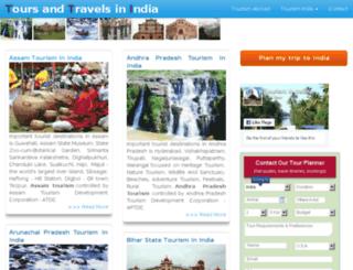 toursandtravelsinindia.com screenshot