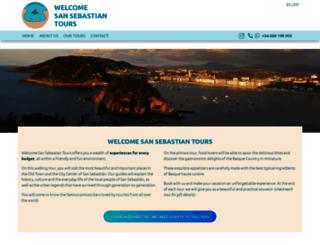 toursansebastian.com screenshot