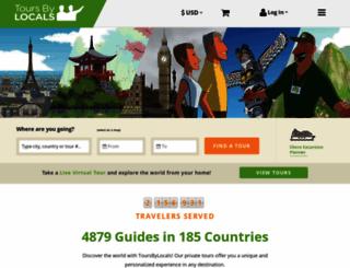 toursbylocals.com screenshot