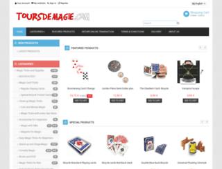 toursdemagie.com screenshot