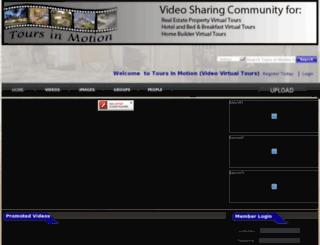 toursinmotion.com screenshot