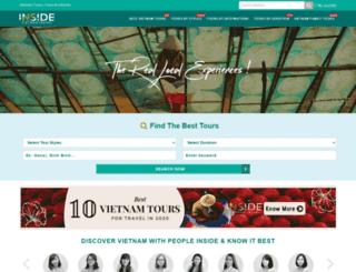 toursinvietnam.com screenshot