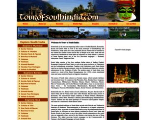 toursofsouthindia.com screenshot