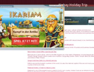 tourwithruksar.npage.de screenshot