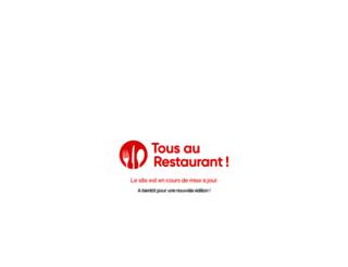 tousaurestaurant.com screenshot