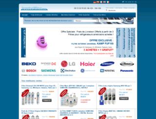 touslesfiltres.com screenshot