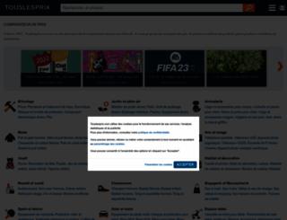touslesprix.com screenshot