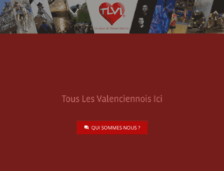 touslesvalenciennoisici.fr screenshot