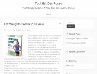 tout-est-des-roses.com screenshot