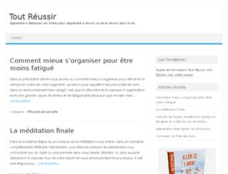 tout-reussir.com screenshot