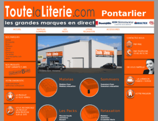 toutelaliterie.com screenshot
