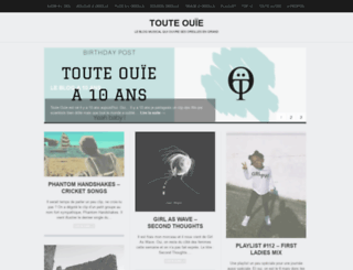 touteouie.wordpress.com screenshot
