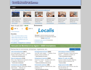 toutmontreal.com screenshot