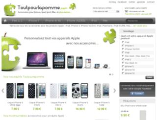 toutpourlapomme.com screenshot
