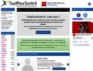 toutpoursortir.fr screenshot