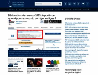 toutsurmesfinances.com screenshot