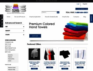 towelsupercenter.com screenshot