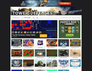 tower-defences.com screenshot