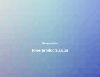 towerproducts.co.za screenshot
