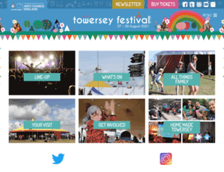 towerseyfestival.com screenshot