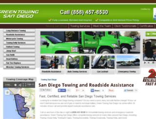 towing-san-diego.com screenshot