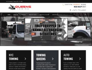 towingqueens.com screenshot