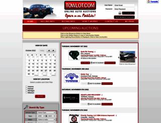towlot.com screenshot