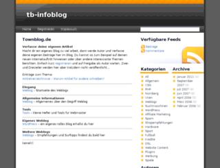 townblog.de screenshot