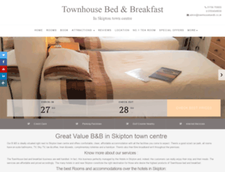 townhousebandb.co.uk screenshot