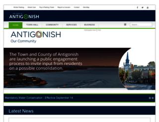 townofantigonish.ca screenshot