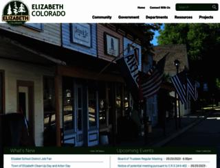townofelizabeth.org screenshot