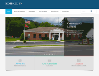 townofkimball.com screenshot