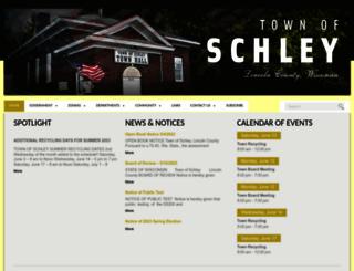 townofschley.com screenshot