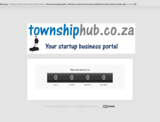 townshiphub.co.za screenshot