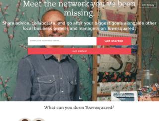 townsquared.com screenshot