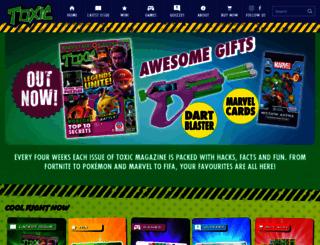 toxicmag.co.uk screenshot