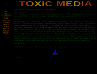toxicmedia.com screenshot