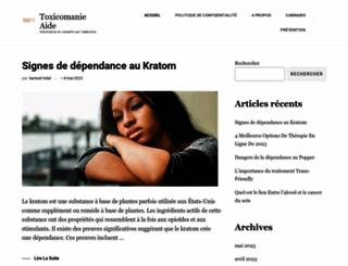 toxicomanie.org screenshot