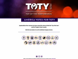 toyawards.org screenshot