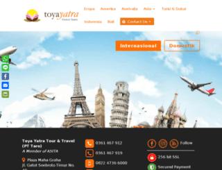 toyayatra.com screenshot