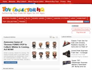 toycollectorhq.com screenshot