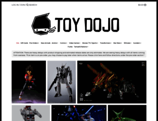 toydojo.com screenshot