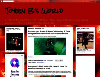 toyeenbalogun.blogspot.com screenshot