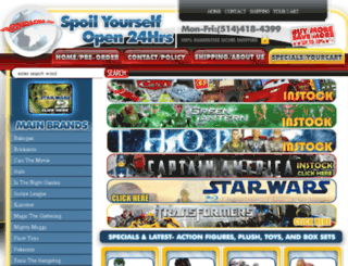 toyglobe.com screenshot