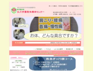 toyo-tamagaku.jp screenshot