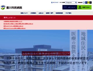 toyokawa-ch-aichi.jp screenshot