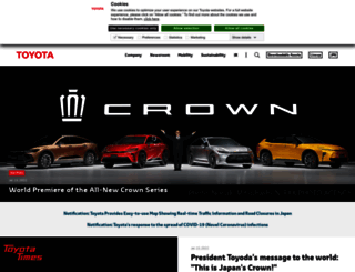toyota-global.com screenshot