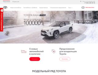 toyota-tomsk.ru screenshot