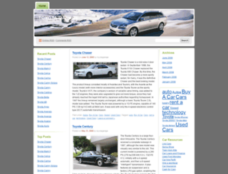 toyotagarage.wordpress.com screenshot